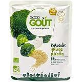 Good Goût - Repas pour bébé avec morceaux d}s 12 mois brocolis, quinoa et ri cotta bio - Le sachet de 220g - (...