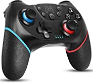 Wireless Controller für Switch, Bluetooth Joypad Gamepad Fernbedienung für Switch Pro, PC, Unterstützung für G