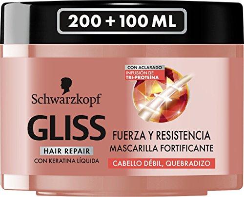 Gliss Fuerza & Resistencia Masque Capillaire 300 ml