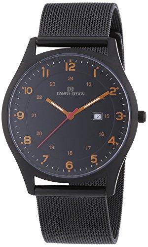 Danish Design - 3316323 - Montre Homme - Quartz Analogique - Bracelet Titane Noir