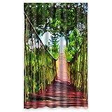 """Puente de madera de encargo DOUBEE cenefa de cortinas opacas (1 pieza) 132,08 cm X cm 213,36, poliuretano, B, 52""""x84"""""""