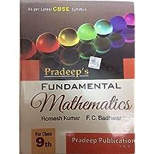 Pradeep's Fundamental mathematics for class 8th ,9th, 10th standard cBSE