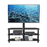 1home TV Ständer Standfuß Fernseher Fernsehtisch mit Halterung für 32-70 Zoll Schwenkbar