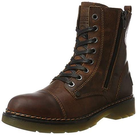 Bullboxer Damen 875M86551A Combat Boots, Braun (Brown), 40 EU