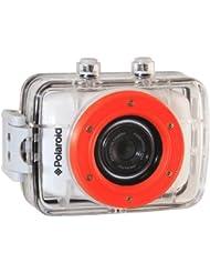 Polaroid XS7 HD 720p 5MP Wasserdichte Action Kamera mit LCD-Touchscreen, inklusive Befestigungsset