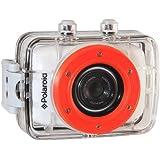 Appareil photo étanche XS7 HD 720p 5 MP de Polaroid pour les sports d'action, avec écran LCD tactile, kit de fixation inclus