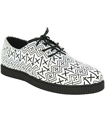 KR3W - Homme - shoes - Chaussures homme kr3w hamilton cuir blanc - EUR 45,5 - blanc