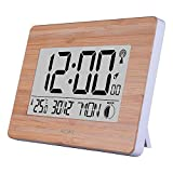 Best Digital Wall Clocks - Large LCD Digital Wall Clock UK Radio Controlled Review