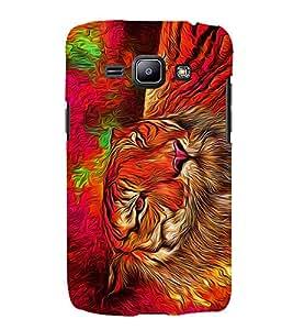Bengal Tiger Panther Cheeta 3D Hard Polycarbonate Designer Back Case Cover for Samsung Galaxy J1 (2016) :: Samsung Galaxy J1 (2016) J120H