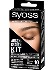 Syoss Augenbrauen Kit 3-1 Anthrazit, 1er Pack (1 x 17 ml)