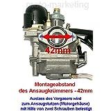 Vergaser Standard Für Suzuki Motoren Ay Katana 50 Ay50 Ux Zillion Aprilia Mojito 50 Sr 50 Dit Racing Dit Replica Funmaster Sport 50 Auto