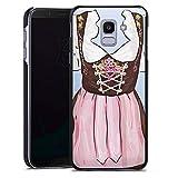 DeinDesign Samsung Galaxy J6 2018 Hülle Case Handyhülle Oktoberfest Pattern Dirndl