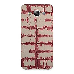 Brick Wall Vintage Back Case Cover for Samsung Galaxy E5