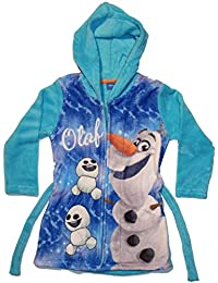 Robe de chambre / Peignoir Olaf La Reine Des Neiges Frozen Disney Fille Polyester - De 3 à 6 Ans