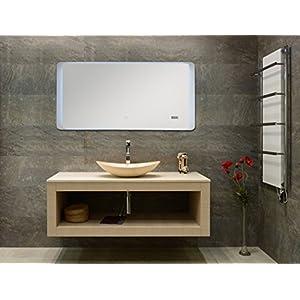 Badspiegel mit Uhr Und Radio | Dein-Wohntrend.de
