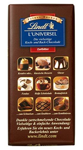 Lindt & Sprüngli L'Universel, 3er Pack (3 x 200 g) (Lindt Schokolade Dessert)