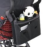 Kinderwagen Organizer mit Langer Netztasche, XGUO...