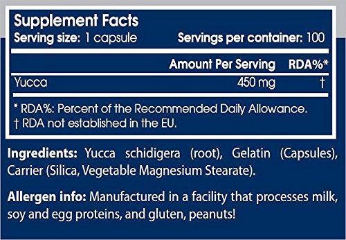 Yucca - 100 gelules - Scitec essentials