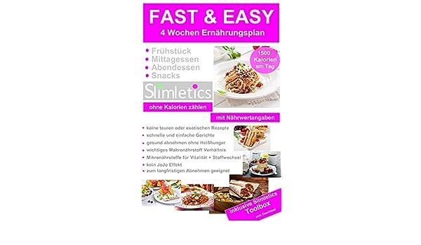 Fast Easy Gesund Abnehmen Frühstück Mittagessen Abendbrot