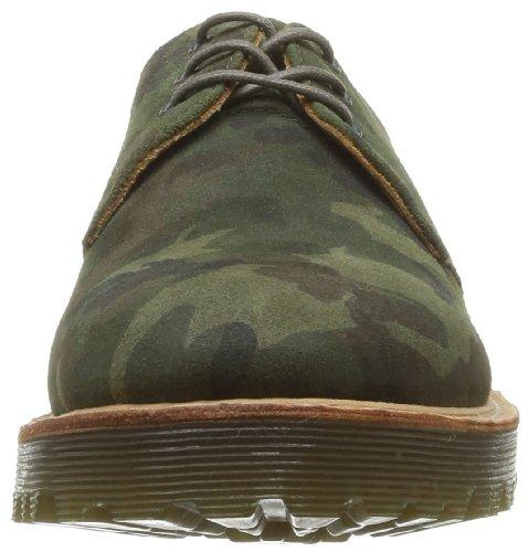 Camo Martens Los Color Cordones 1461 De Hombre Dr Gamuza Del marrón De Zapatos Marrón qHwZdnE