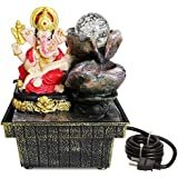 TIED RIBBONS Lord Ganesha Table Top Water Fountain For Home Décor