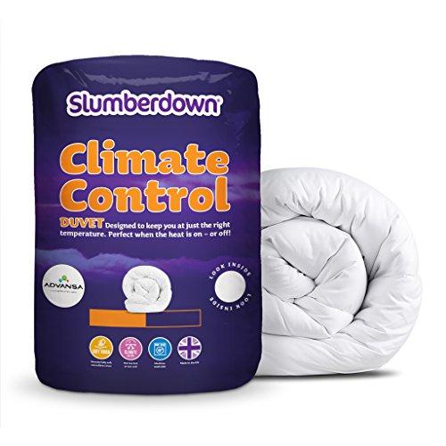 prezzo Slumberdown 1537AMZ77 Piumino Matrimoniale in policotone con funzione Climate Control, bianco, taglia King