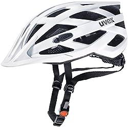 Uvex I-Vo CC Casco de Ciclismo, Unisex Adulto, Blanco, 56-61 cm
