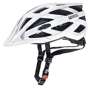 Uvex Erwachsene Fahrradhelm I-VO CC, Weiß (Weiß (White Mat)), 52-57 cm