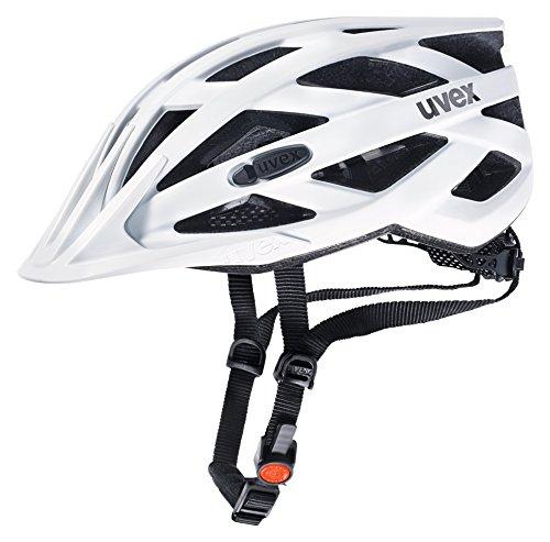 frauen helm Uvex Erwachsene I-VO CC Fahrradhelm, Weiß (White Mat), 52-57 cm
