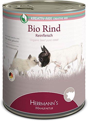Herrmanns Bio Rind 100 Prozent, 6er Pack (6 x 800 g)