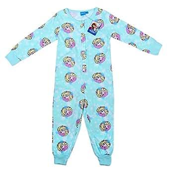 new primark Elsa de La Reine des neiges disney pour primark Essentials Pyjama en coton - 6/7 ans all-in-one Combinaison pour bébé combinaison