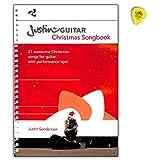 JustinGuitar AM1012099 9781785583704 Livre de chanson de Noël pour guitare Text, accord, poignée de guitare