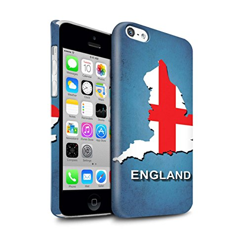 STUFF4 Glanz Snap-On Hülle / Case für Apple iPhone X/10 / Australien/Australian Muster / Flagge Land Kollektion England/Englisch
