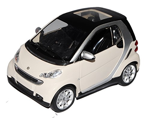 smart-fortwo-for-two-for2-2-weiss-1-24-new-ray-modellauto-modell-auto