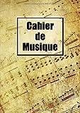 Cahier De Musique: Seyes Grands Carreaux et Portées 108 Pages A4...