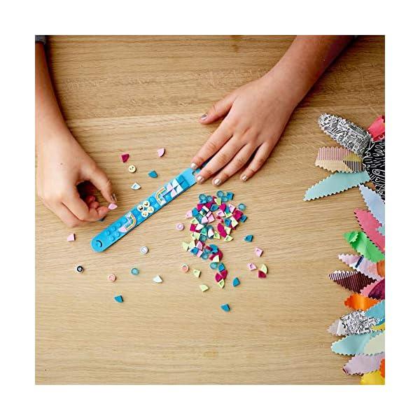LEGO- Dots Extra Serie 1 Accessori con Elementi Glitterati, Traslucidi e Speciali per Cambiare il tuo Braccialetto o le… 3 spesavip