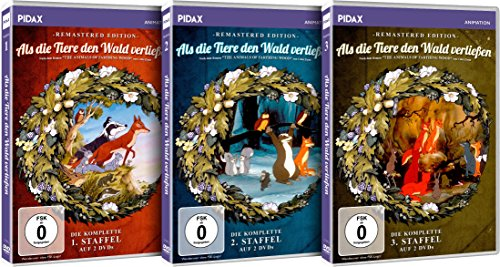 Staffeln 1-3 (Remastered Edition) (6 DVDs)