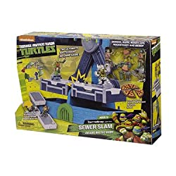 Teenage Mutant Ninja Turtles Sewer Slam Deluxe Battle Game