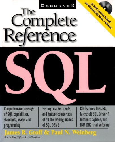 SQL: The Complete Reference by James R. Groff (1999-03-30)