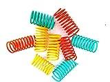Purrs Flingie Springies Cat Toy - WIDE Springs -9 Pack