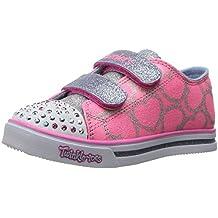 Skechers Sparkle Glitz-Heartsy Glam, Zapatillas para Niñas