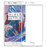 #9: ONEPLUS 3T ONPLUS 3 FULL COVERAGE WHITE TEMPERED GLASS SCREEN PROTECTOR