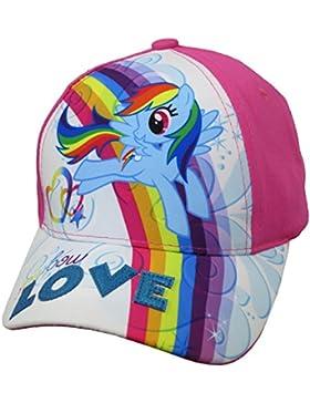 Hasbro My Little Pony - Sombrero - para niña Rosa Pink and White Talla única