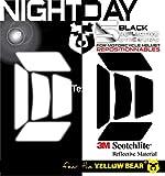Yellow BearTM Easy Five TM, Kit 5 Stickers Retro réfléchissants REPOSITIONNABLES,...
