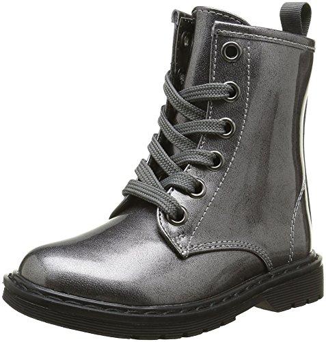 ASSOAnfibio - Stivali da motociclista alla  caviglia Bambina , grigio (grigio), 38 EU
