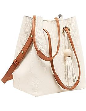 Turelifes, borsa da donna a secchiello, si può portare a spalla, a tracolla, o come zainetto
