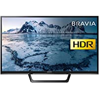 Sony Bravia KDL32WE613BU (32-Inch) HD Ready HDR Smart TV (X-Reality PRO, Slim and streamlined design) - Black (2017 Model)
