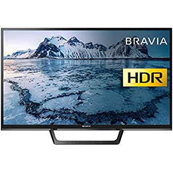 Sony Bravia 32-Inch HD Ready HDR Smart TV (X-Reality PRO, Slim and streamlined Design), Black (2017 Model)