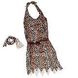 Baoblaze Höhlenmensch / Steinzeitmensch / Cavewoman Kostüm mit Raffhalter Hüftgurt und Armband