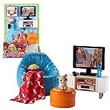 Mattel Zona de Televisión y Sillones   Barbie DVX46   Muebles de la Sala